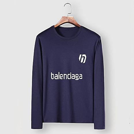 Balenciaga Long-Sleeved T-Shirts for Men #482585 replica
