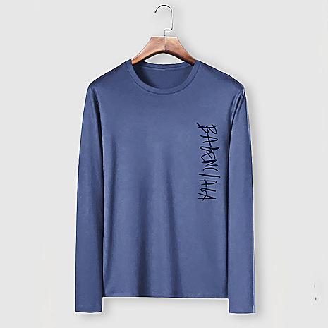 Balenciaga Long-Sleeved T-Shirts for Men #482590 replica