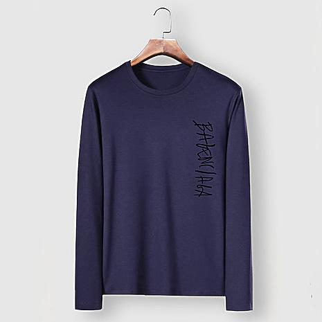 Balenciaga Long-Sleeved T-Shirts for Men #482591 replica