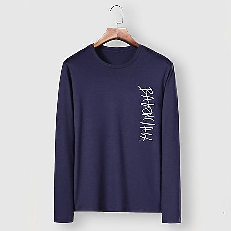 Balenciaga Long-Sleeved T-Shirts for Men #482592 replica
