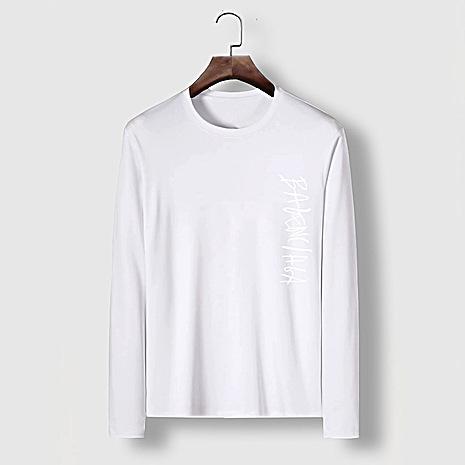 Balenciaga Long-Sleeved T-Shirts for Men #482597 replica