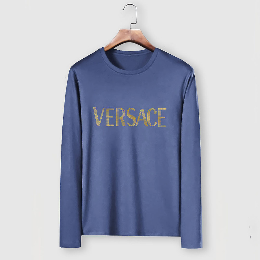 Versace Long-Sleeved T-Shirts for men #481868 replica