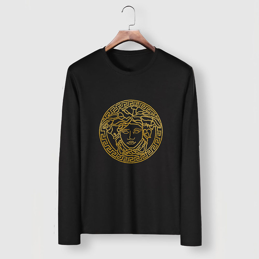 Versace Long-Sleeved T-Shirts for men #481875 replica