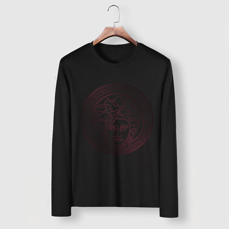 Versace Long-Sleeved T-Shirts for men #481880 replica