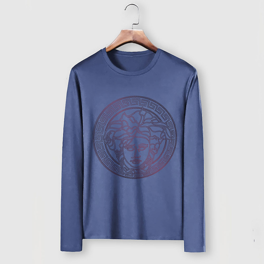 Versace Long-Sleeved T-Shirts for men #481882 replica