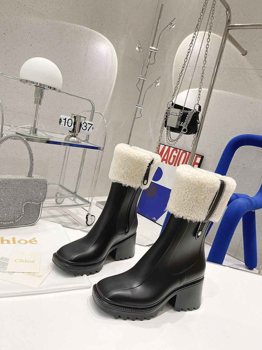 CHLOE 6cm High-heeled boots for women #481904 replica
