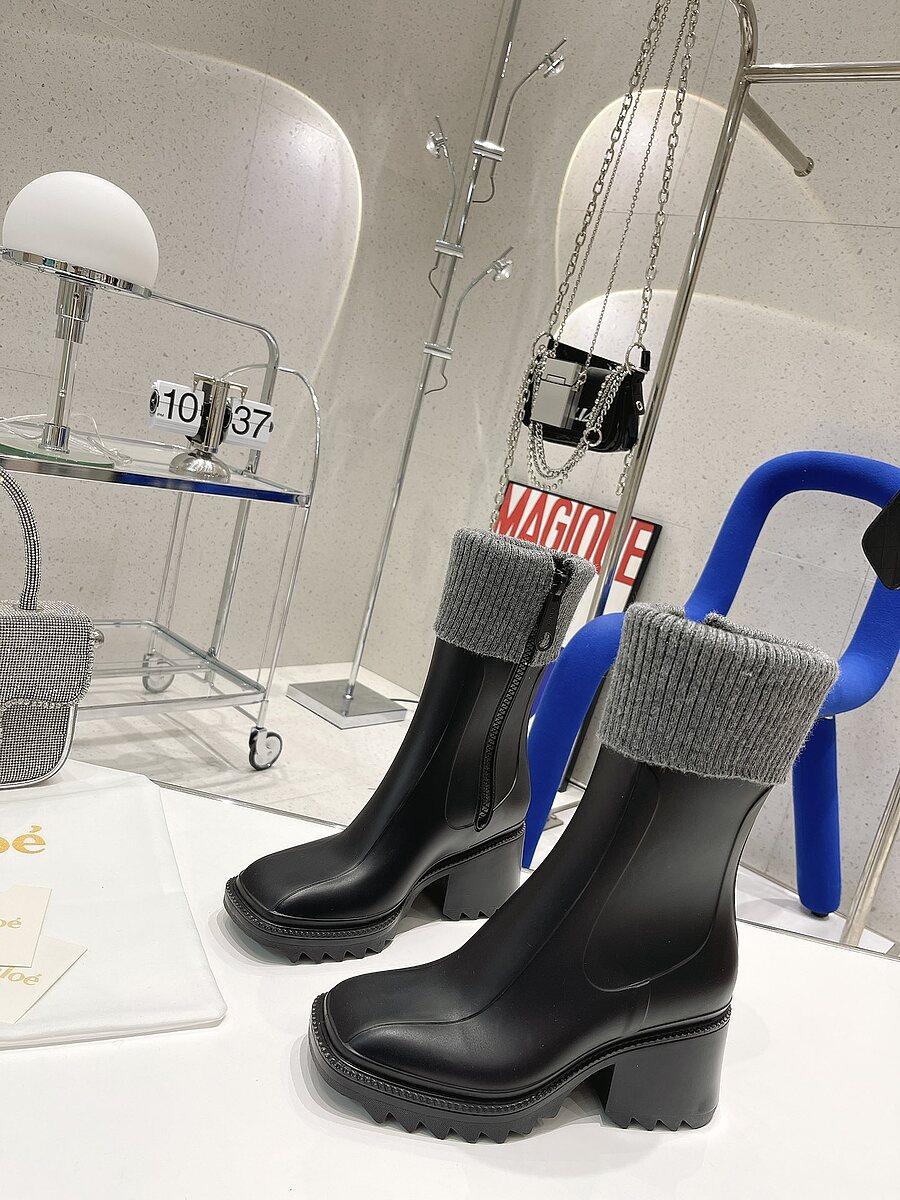 CHLOE 6cm High-heeled boots for women #481906 replica