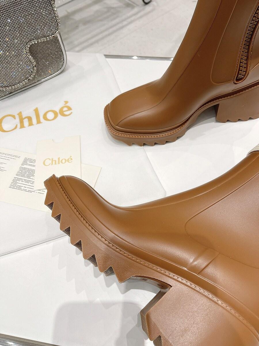 CHLOE 6cm High-heeled boots for women #481907 replica