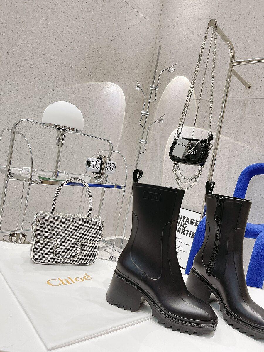 CHLOE 6cm High-heeled boots for women #481908 replica
