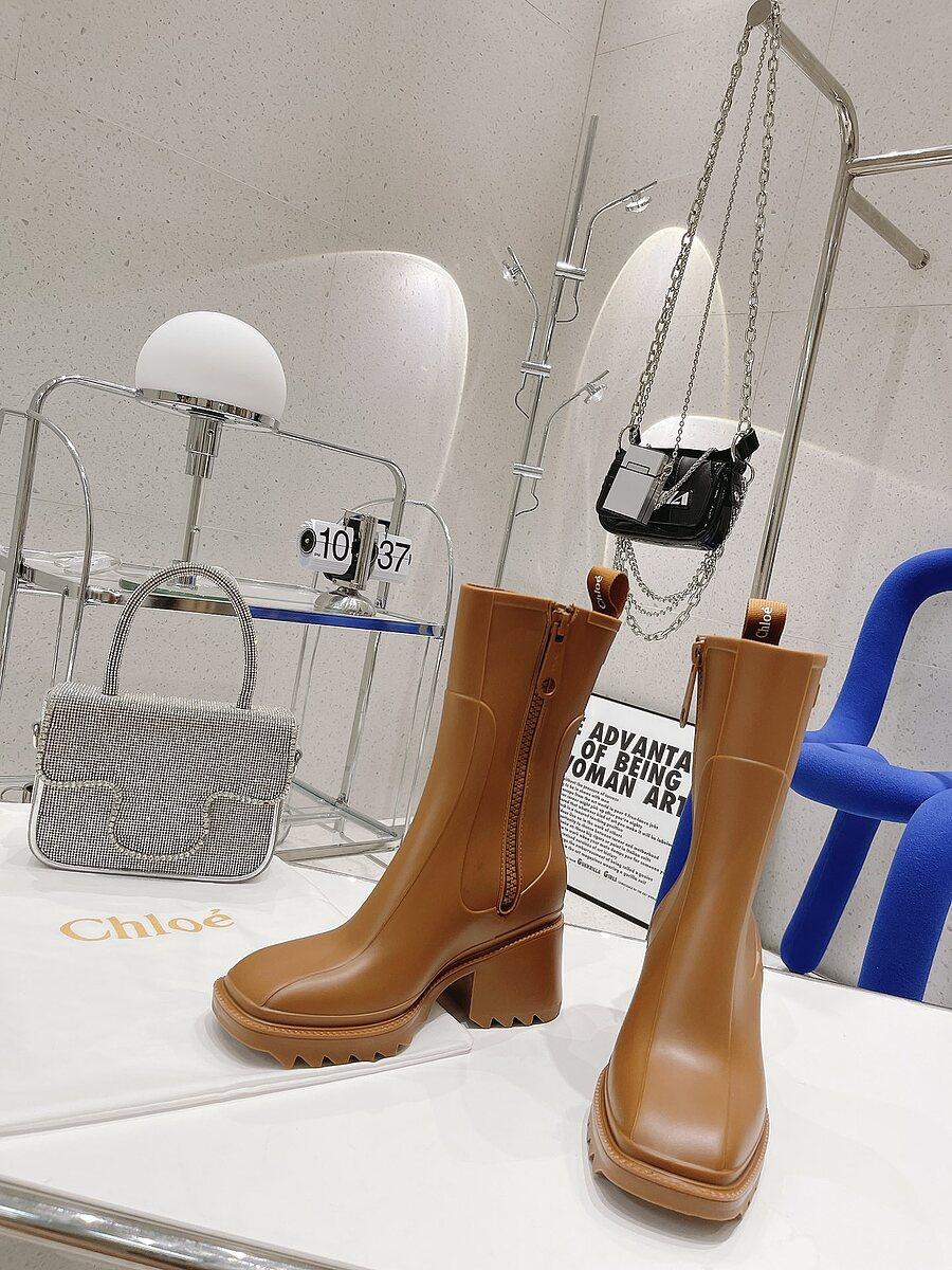 CHLOE 6cm High-heeled boots for women #481909 replica