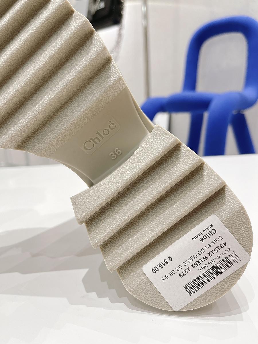 CHLOE 6cm High-heeled boots for women #481910 replica