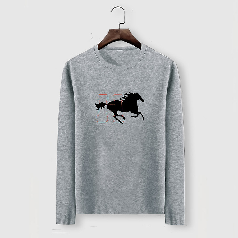 HERMES Long-Sleeved T-shirts for MEN #482001 replica