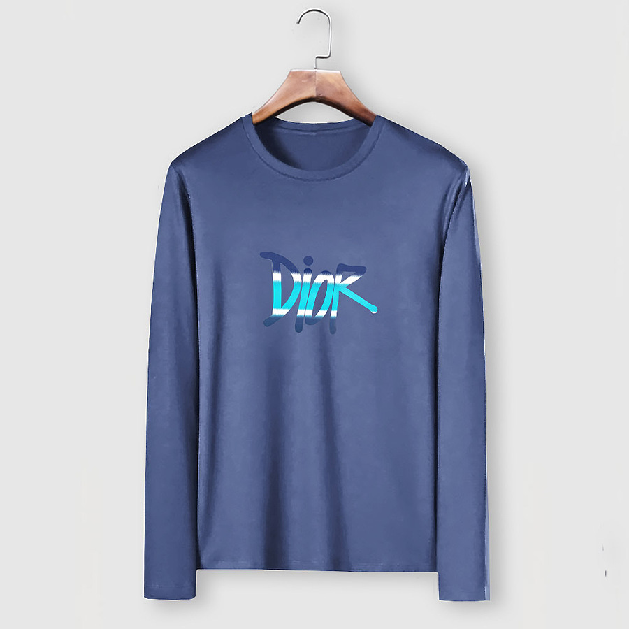 Dior Long-sleeved T-shirts for men #482208 replica