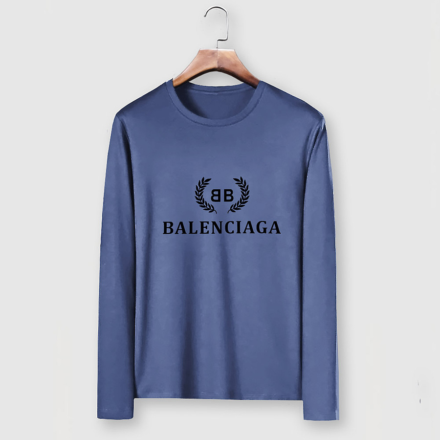 Balenciaga Long-Sleeved T-Shirts for Men #482570 replica