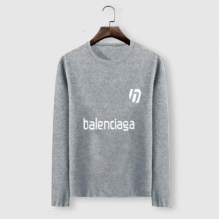 Balenciaga Long-Sleeved T-Shirts for Men #482587 replica