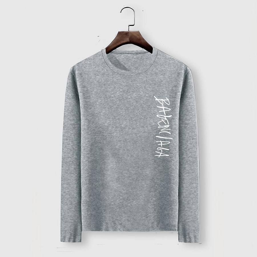Balenciaga Long-Sleeved T-Shirts for Men #482596 replica