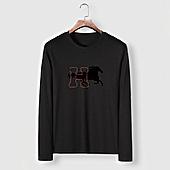US$23.00 HERMES Long-Sleeved T-shirts for MEN #482002