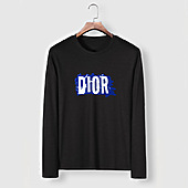 US$23.00 Dior Long-sleeved T-shirts for men #482215