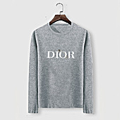 US$23.00 Dior Long-sleeved T-shirts for men #482221