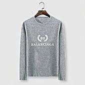 US$23.00 Balenciaga Long-Sleeved T-Shirts for Men #482575