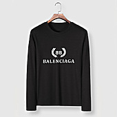 US$23.00 Balenciaga Long-Sleeved T-Shirts for Men #482576