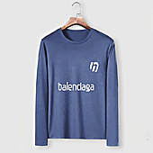 US$23.00 Balenciaga Long-Sleeved T-Shirts for Men #482584