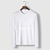 US$23.00 Balenciaga Long-Sleeved T-Shirts for Men #482588