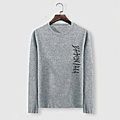US$23.00 Balenciaga Long-Sleeved T-Shirts for Men #482595